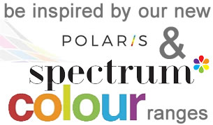 polaris & spectrum colour ranges