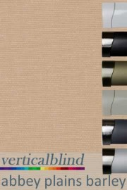 Abbey Plains Barley 89mm Vertical Blind