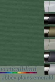 Abbey Plains Emerald 89mm Vertical Blind