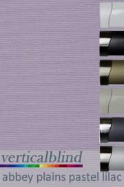 Abbey Plains Pastel Lilac 89mm Vertical Blind
