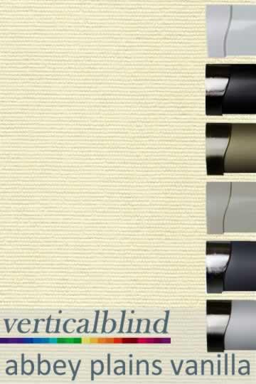 Abbey Plains Vanilla 89mm Vertical Blind