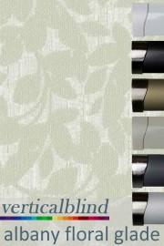 Albany Floral Glade 89mm Vertical Blind