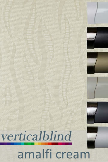 Amalfi Cream Vertical Blind