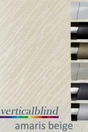 Amaris Beige 89mm Vertical Blind