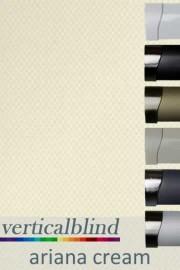 Ariana Cream 89mm Vertical Blind