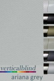 Ariana Grey 89mm Vertical Blind