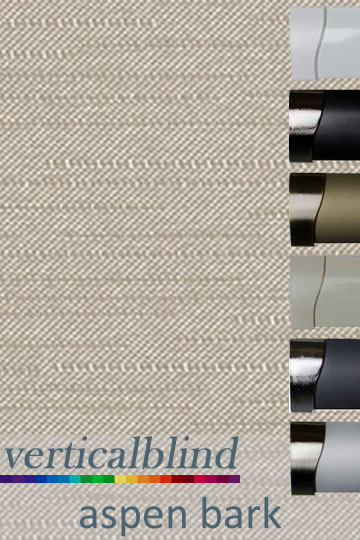 Aspen Bark 89mm Vertical Blind