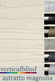 Astratto Magnolia 89mm Vertical Blind