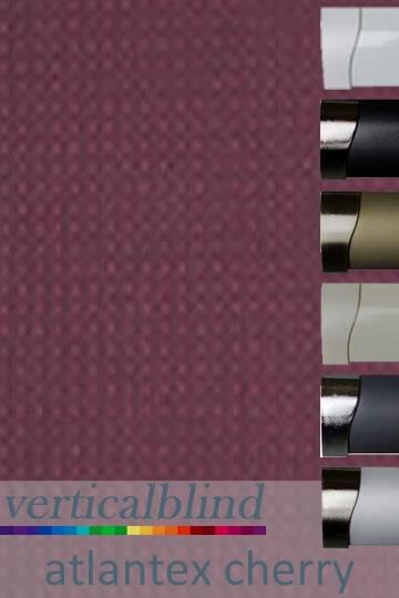 Atlantex Cherry 89mm Vertical Blind