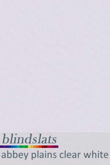 Abbey Plains Clear White 89mm