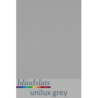 "Unilux Welded Blackout PVC Replacement Vertical Blind Slats Louvres 3.5/"" 89mm"